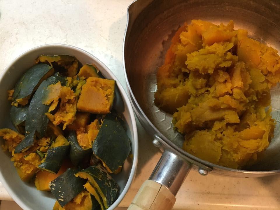 栄養満点のかぼちゃの皮を美味しく食べよう「かぼちゃの皮のグラタン」