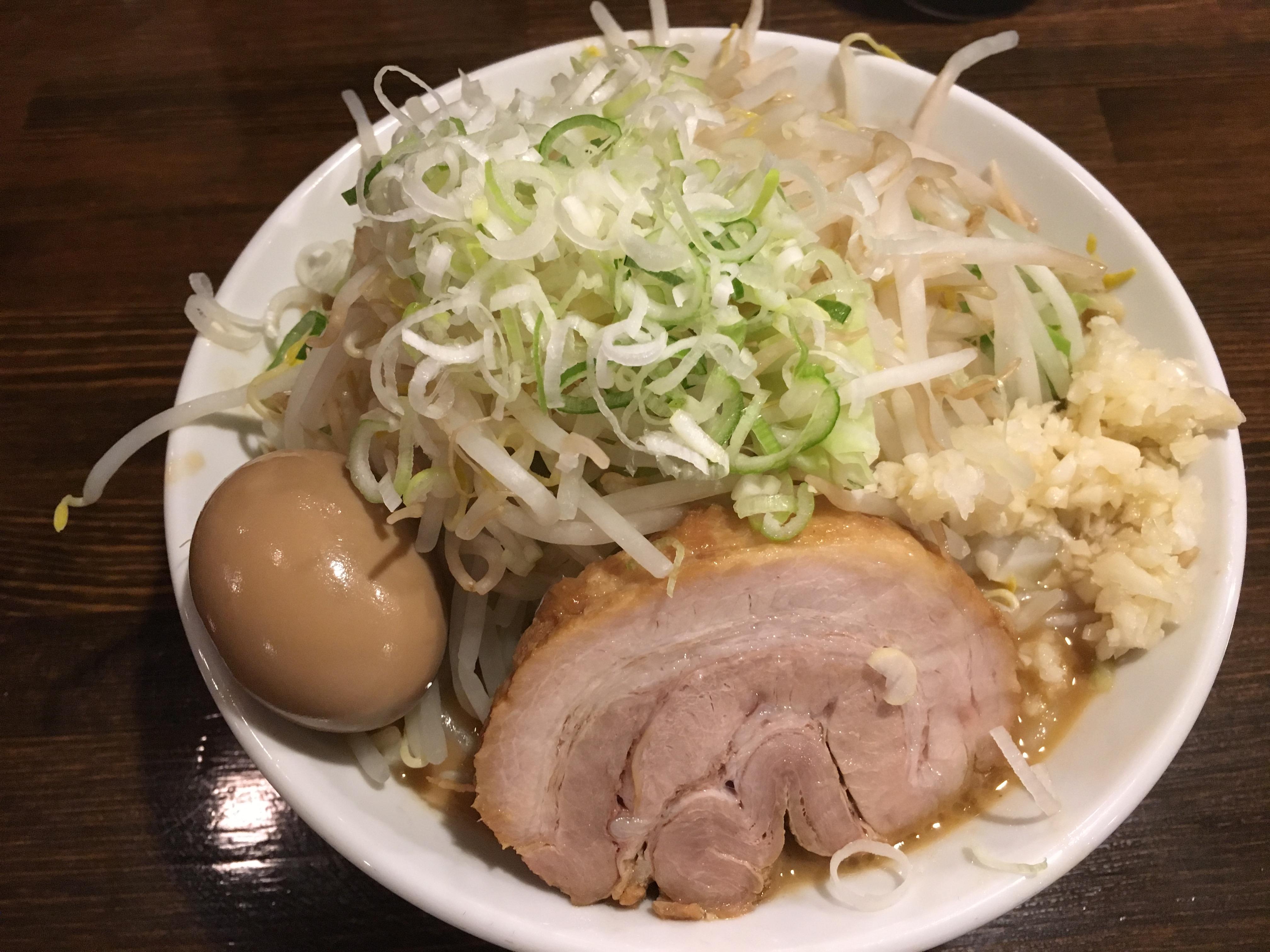 渋谷駅徒歩10分×ミニらーめん(味玉のせ)「ちばから 渋谷道玄坂店」